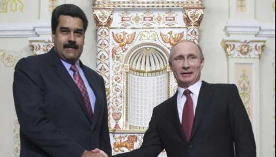 Rusia potencia su apoyo a Maduro, que hoy enfrenta otra movilización