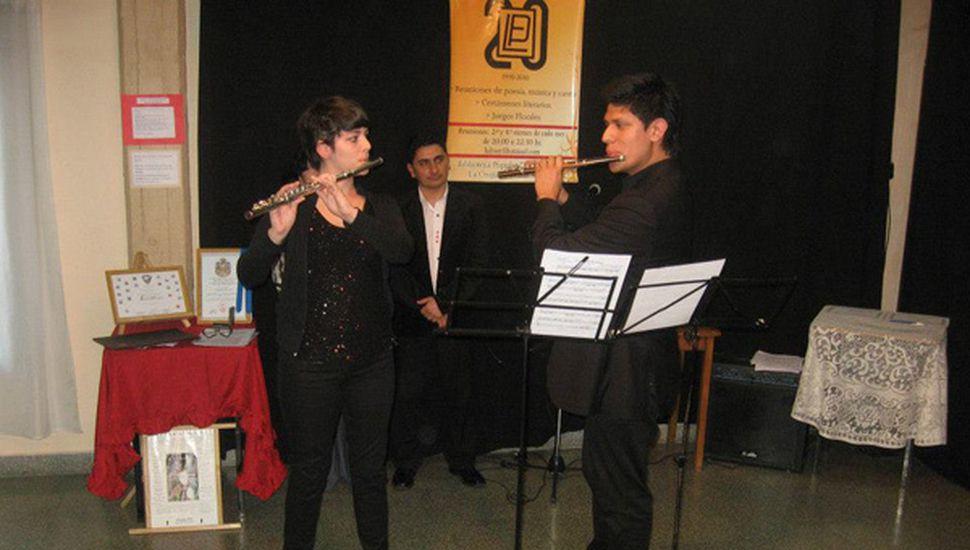 Román Romagnoli y Luciana Patrone, concertistas.