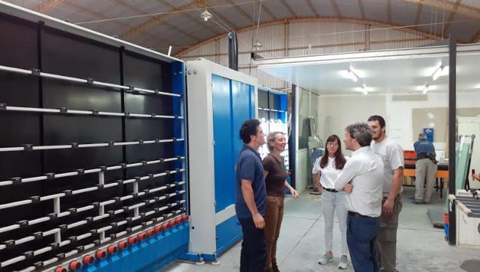 El secretario de Producción visitó el sector industrial