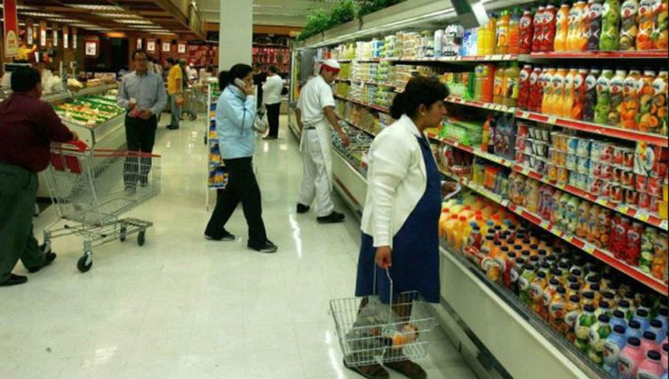 Las ventas en shoppings y súper crecieron 1,2%