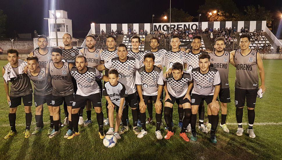 Mariano Moreno recibe hoy a Defensa Argentina.