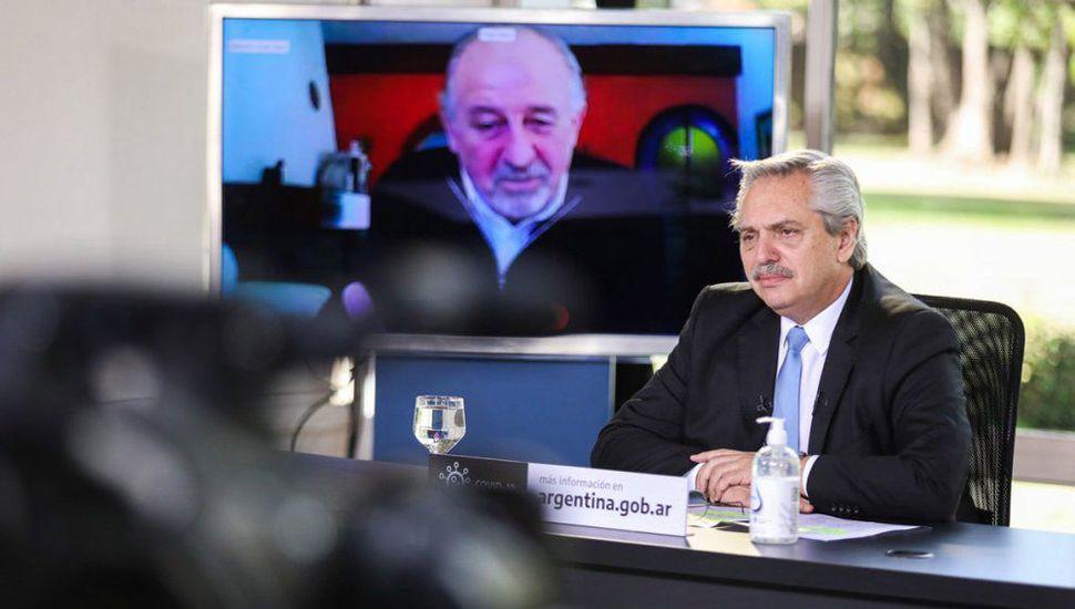 Alberto Fernández aseguró que su mayor compromiso es con la industria nacional.