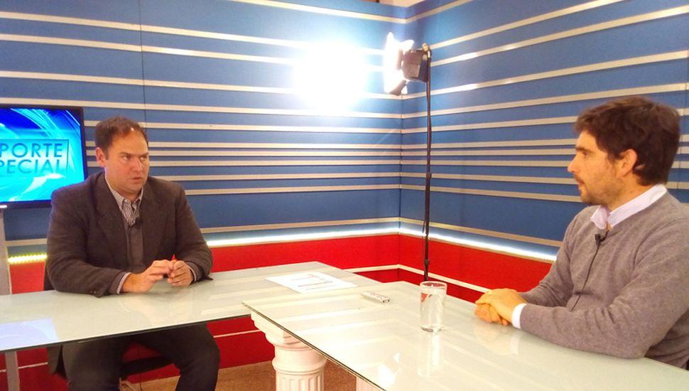 El concejal del Frente de Todos Maximiliano Berestein participó del programa Reporte Especial, por TeleJunín.