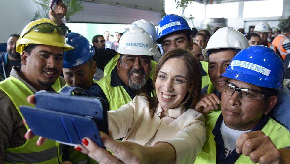 María Eugenia Vidal hace campaña como si fuera candidata, para robustecer las posibilidades de Esteban Bullrich.