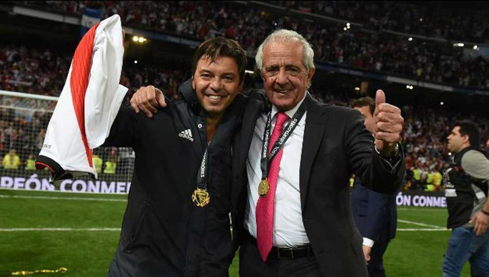 Marcelo Gallardo y Rodolfo D'Onofrio.