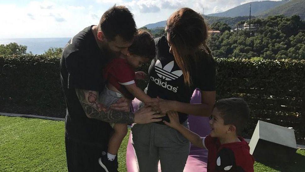 Lionel Messi y Antonella Roccuzzo esperan otro hijo varón
