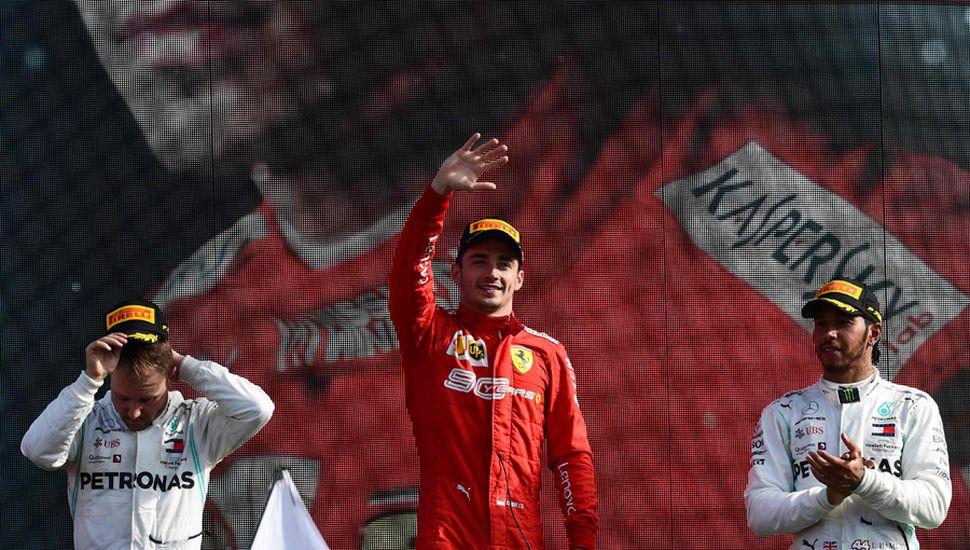 Leclerc consiguió su segunda victoria consecutiva.