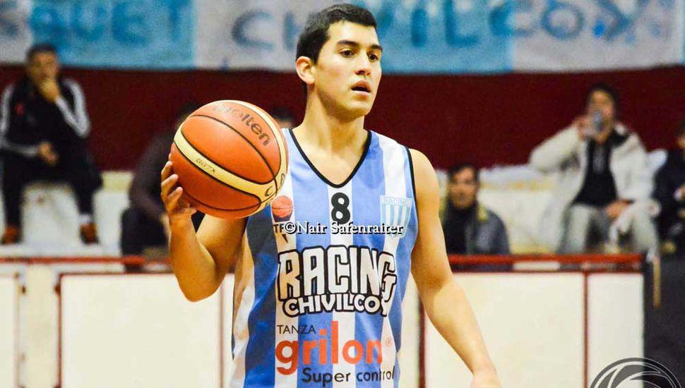 Alejo Barrales, figura de Racing.