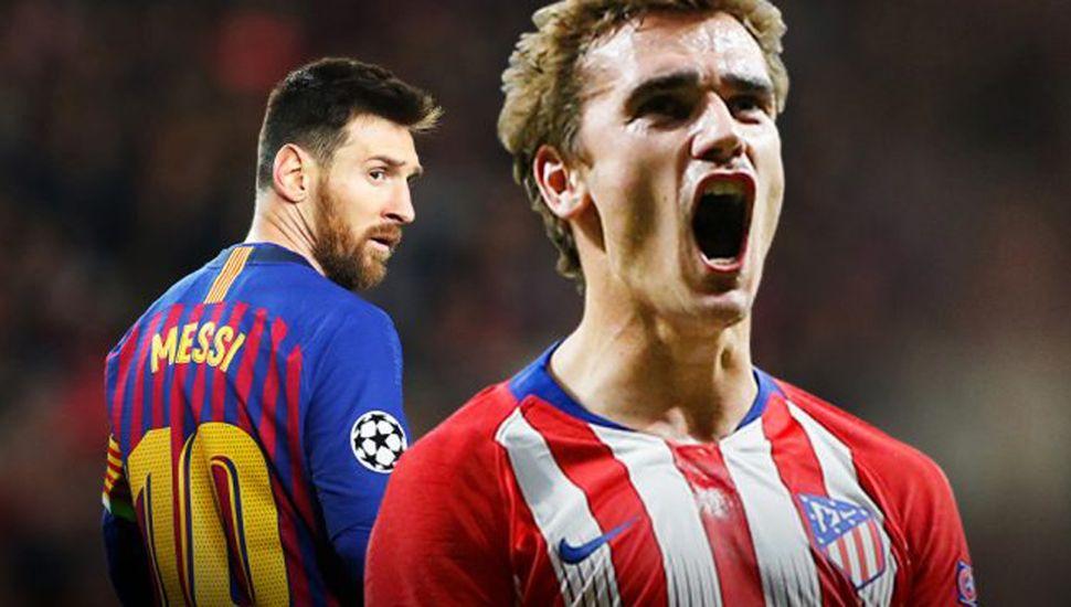 Messi y Griezmann jugarán juntos en Barcelona.