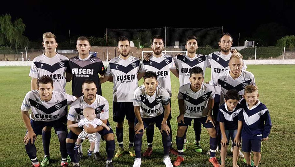 Titulares de Villa que anoche vencieron a Independiente (J).