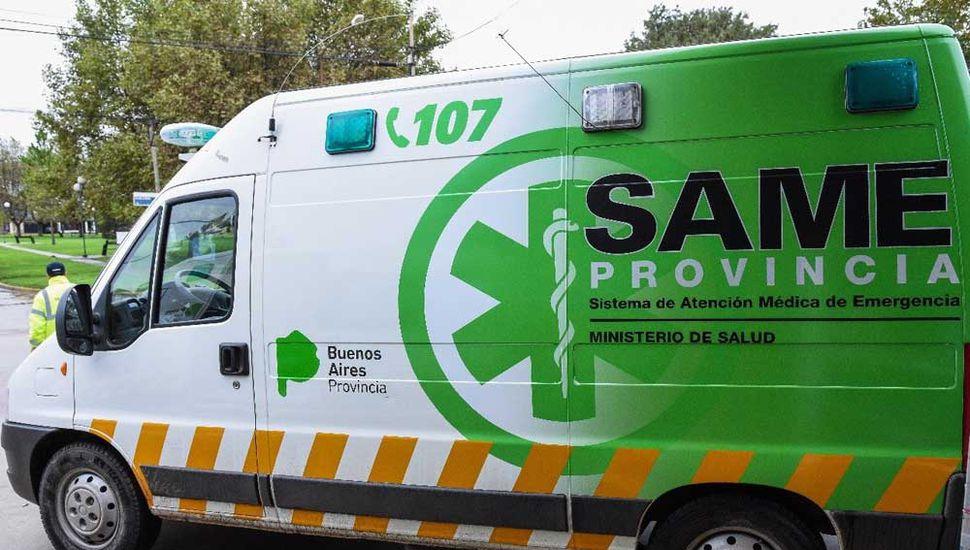 Ambulancia del SAME que se incorpora al sistema de Salud de la Municipalidad de General Pinto.