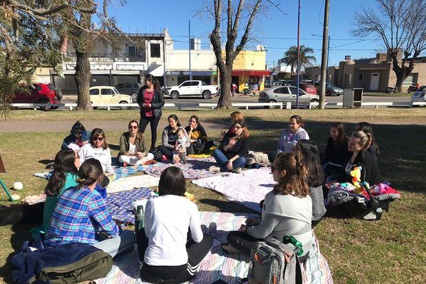 Jornada sobre lactancia materna en Rojas