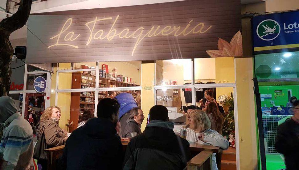 La Tabaquería, situada en Rivadavia 91.