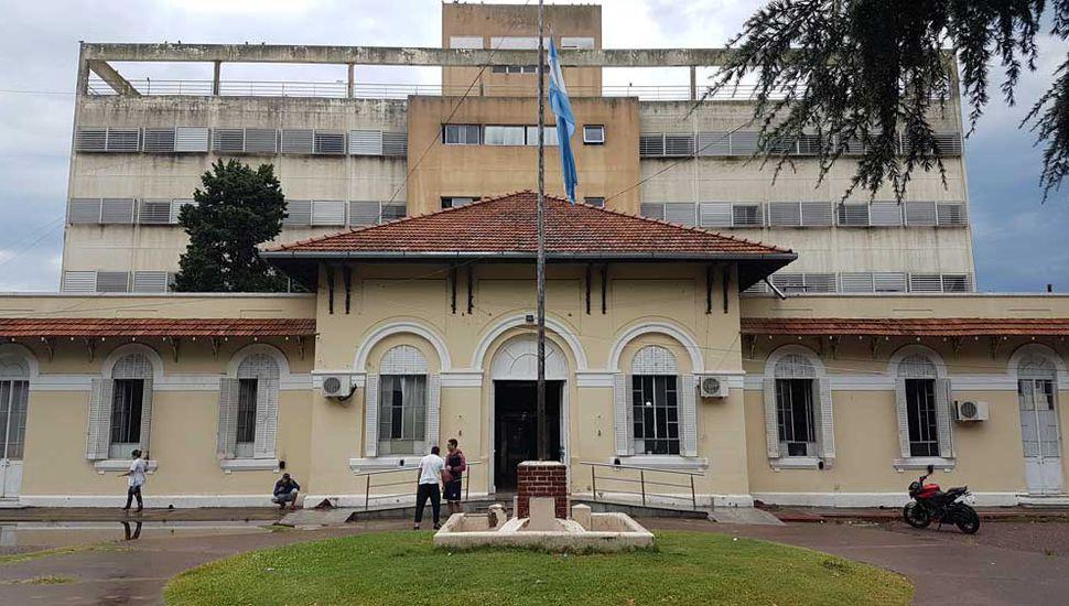Las obras en la guardia del Hospital de Junín estarían finalizadas para fin de año.