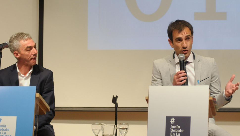Tal como sucedió en los comicios de 2011 y los de 2015, el 27 de octubre Pablo Petrecca y Mario Meoni volverán a medirse en una nueva contienda electoral.