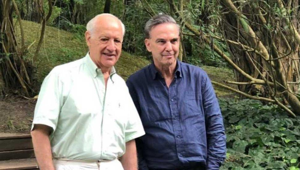 Lavagna se reunió con Pichetto en Cariló.