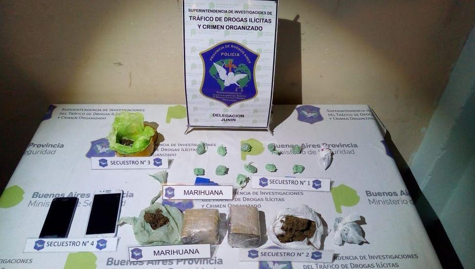"""En Junín: desbaratan dos """"kioscos"""" de venta de droga"""