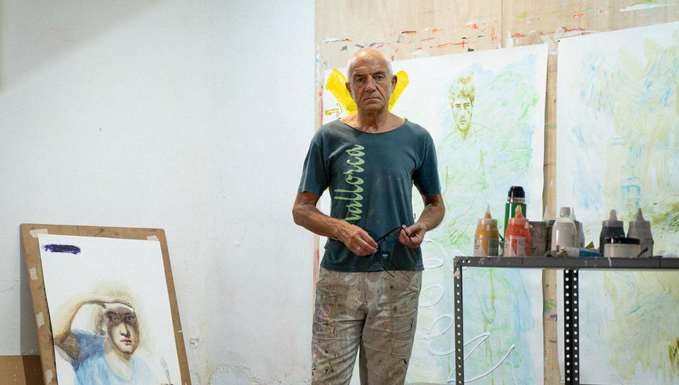 El artista Carlos Martínez Volpatti expone este sábado en 847