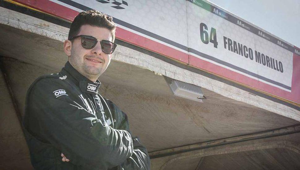 Franco Morillo, destacado piloto juninense que compite en el Top Race Series.