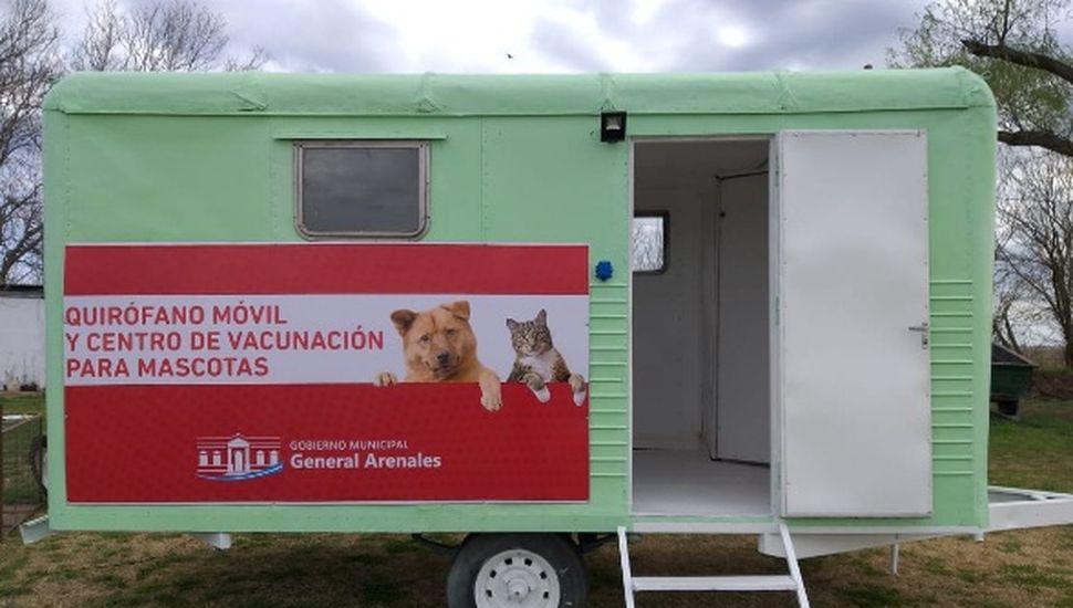 Arenales: comienza la recorrida del quirófano para mascotas