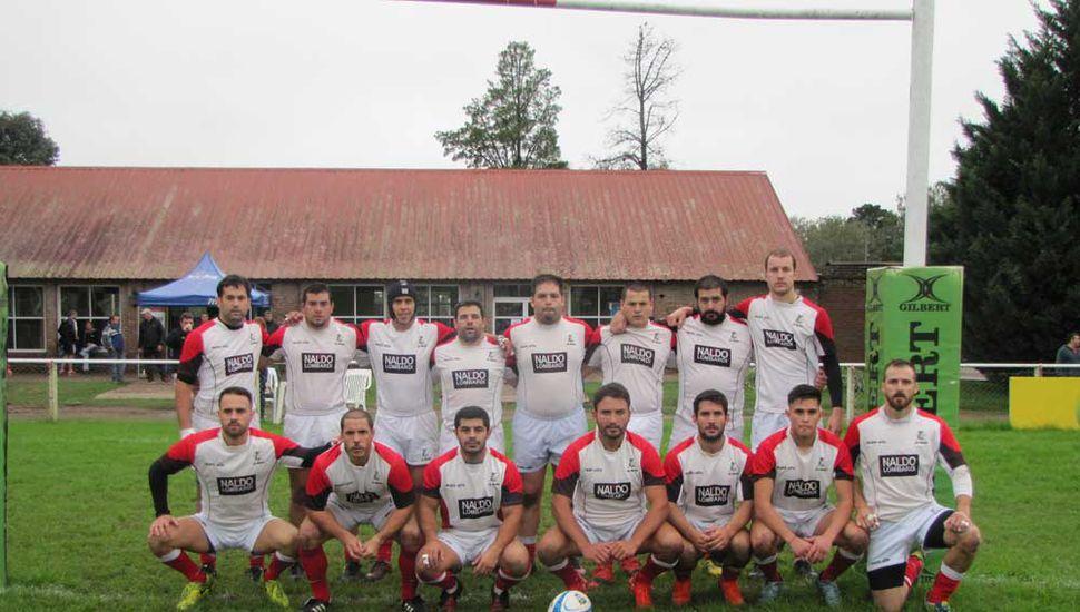 Plantel del Club Los Miuras que compite en el Regional Pampeano