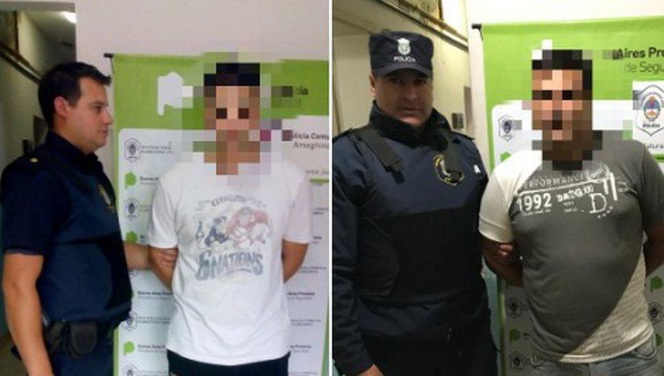 Detienen a dos hombres de 43 y 61 años en Ameghino