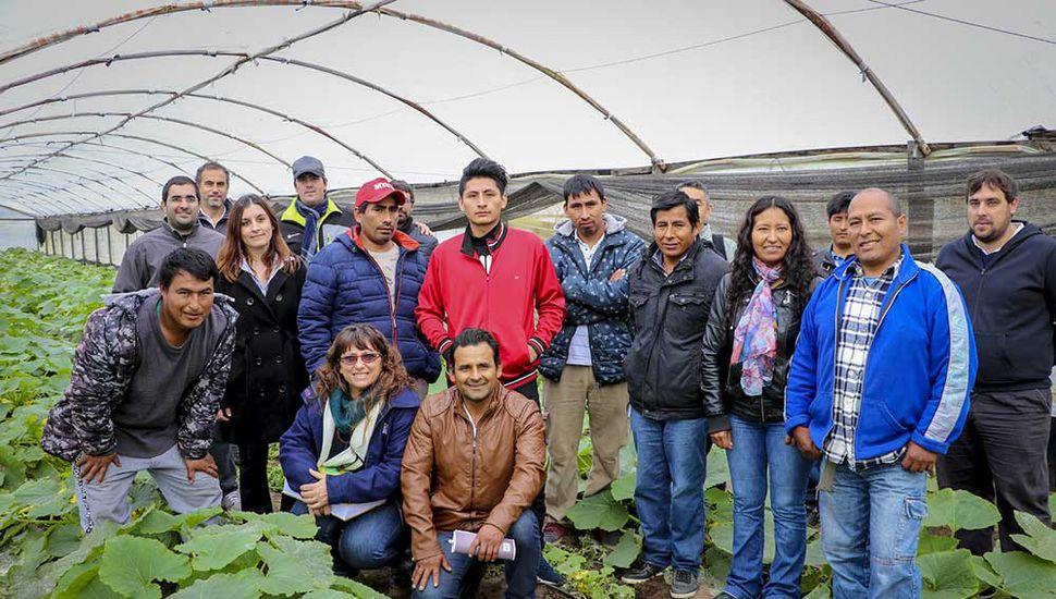 Se desarrolló un curso teórico práctico sobre buenas prácticas hortícolas.
