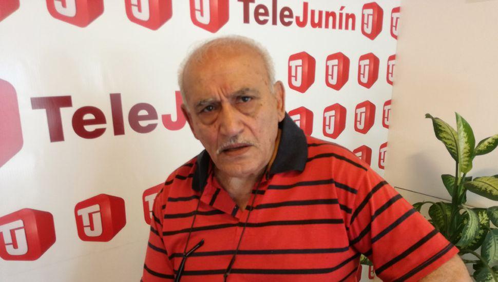 Osvaldo Giapor, presidente de la Federación de Sociedadaes de Fomento.
