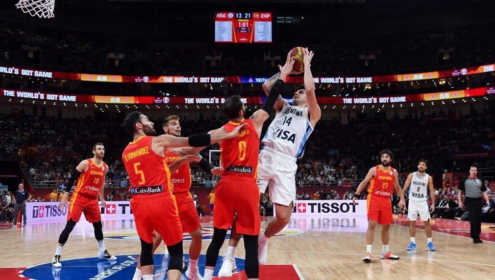Argentina no pudo con España y terminó subcampeón del mundo en básquet