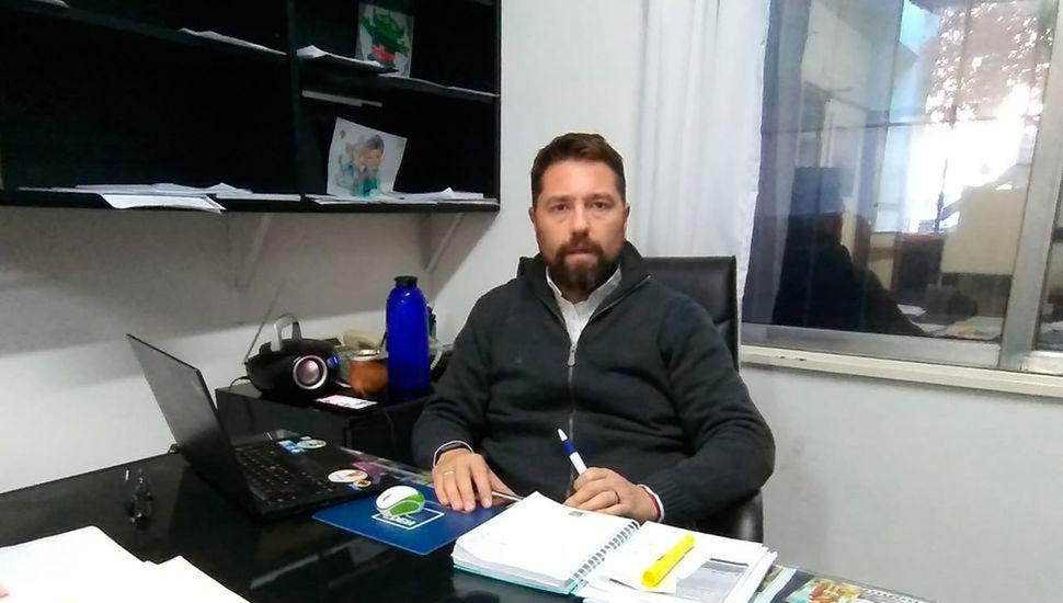 Alejandro Biancosino, gerente de EDEN.