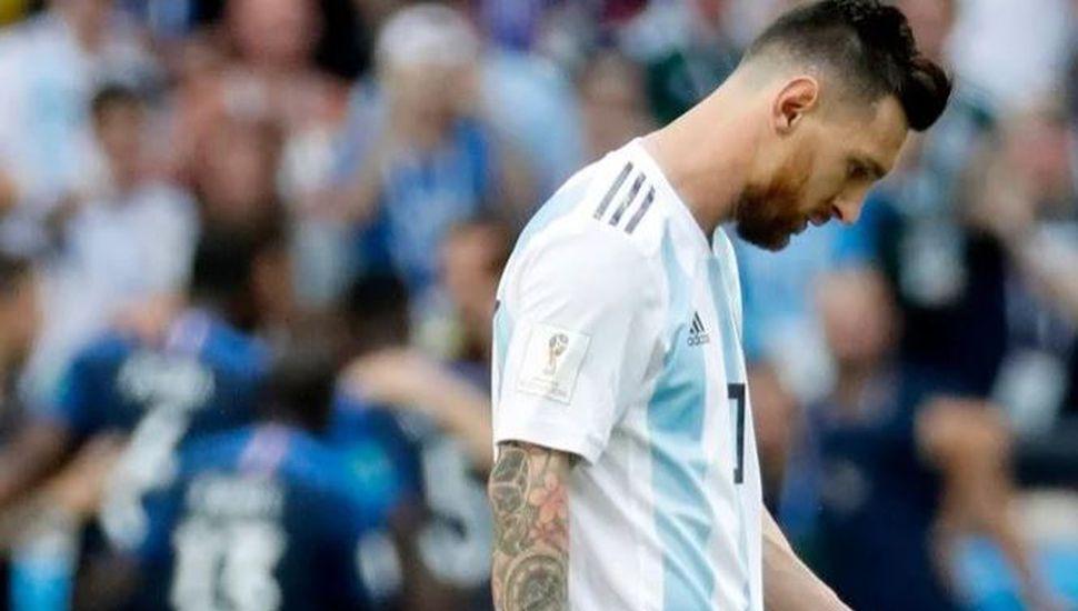 Discutió con su mujer por Messi y le pidió el divorcio