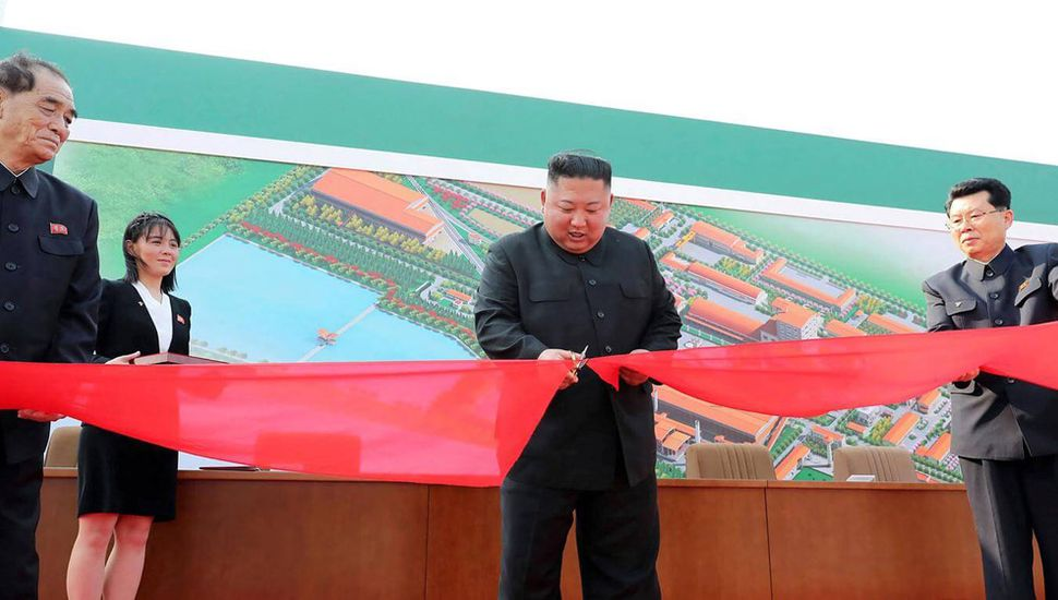 Reapareció el líder norcoreano Kim Jong-un tras una larga ausencia