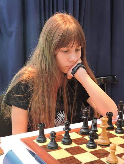 Sofía Milagros Bontempi Garrote, ajedrecista en franco ascenso.