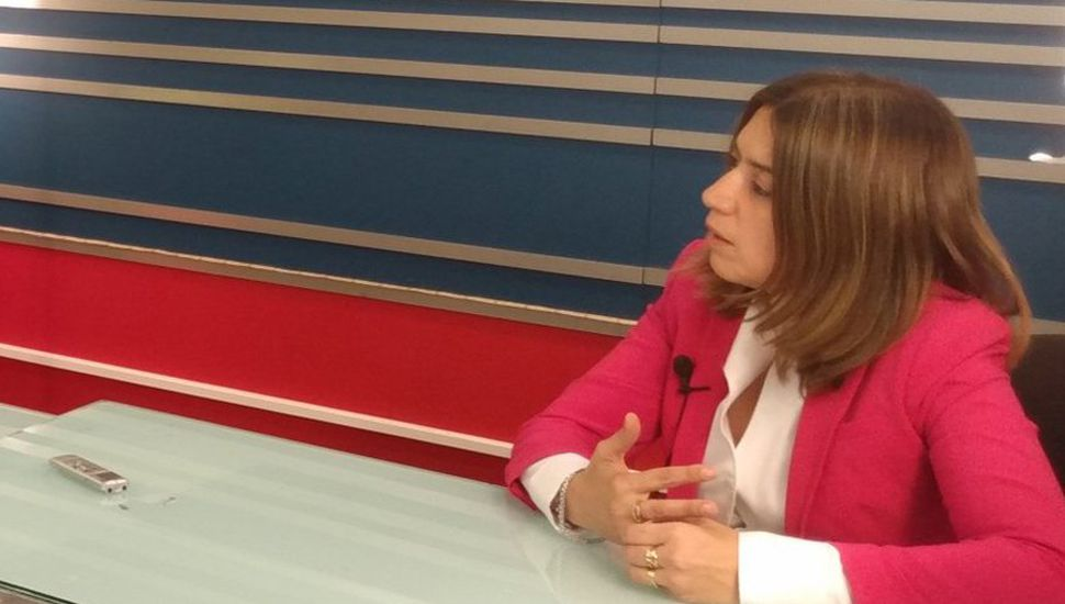 La vicerrectora de la Unnoba, Danya Tavela, participó del ciclo televisivo Reporte Especial, en TeleJunín.