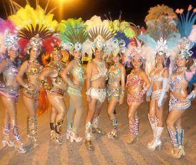 """""""El carnaval es cuestión de actitud, se trata de contagiar la alegría"""", dijo Gabriel López."""