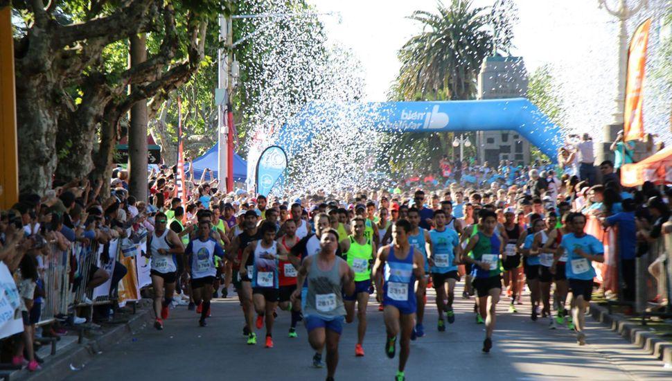 Maratón en Bolívar.