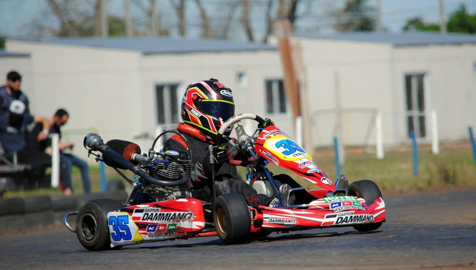 Panet dejará el karting y pasará a los autos de carrera.