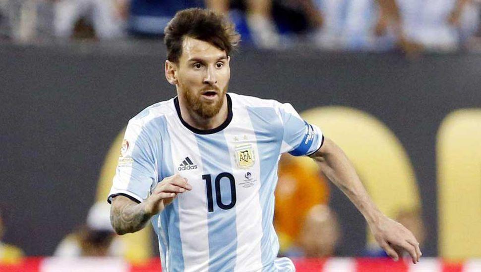 Lionel Messi, jugador del Seleccionado.