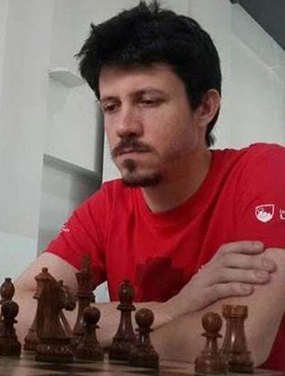 Diego Flores ganó el torneo de ajedrez virtual