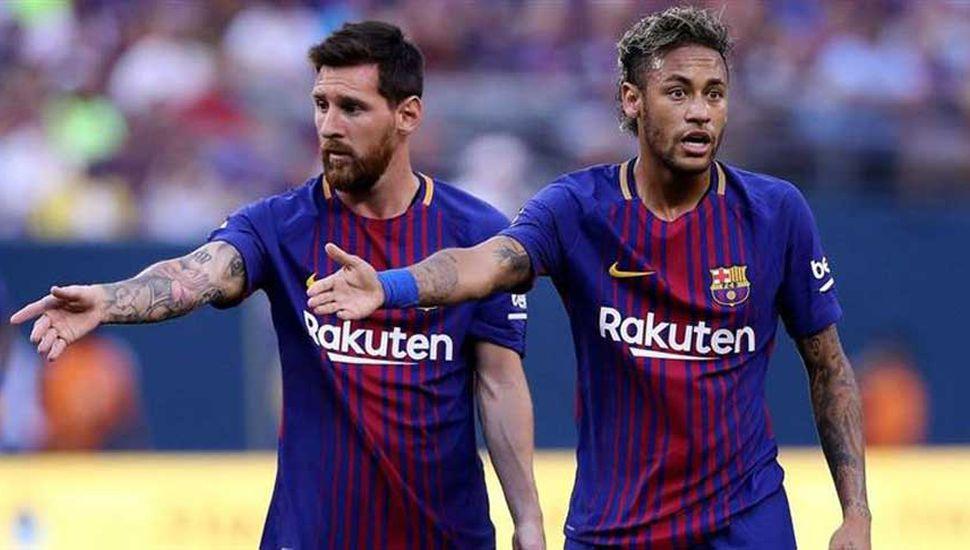 Revelaron que Neymar abandonó  el Barcelona por culpa de Messi