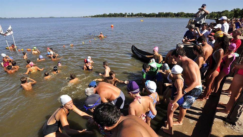 El próximo sábado, con el promocional y el Cruce de 1.200 metros, comienzan las pruebas de aguas abiertas en la