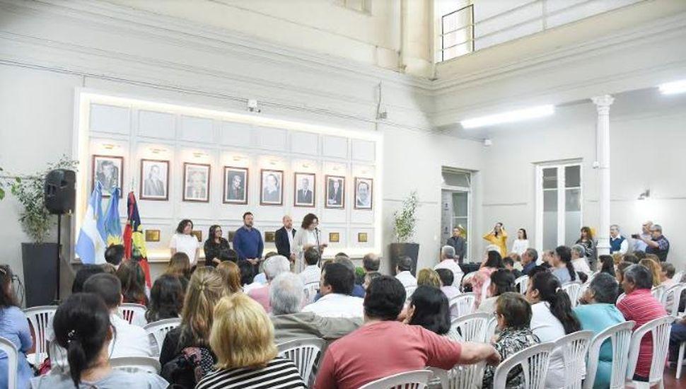 Aiola reconoció a empleados municipales con 25 años de trayectoria