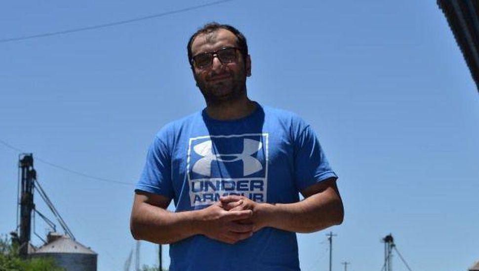 Bashar Badro, un refugiado sirio en Chacabuco