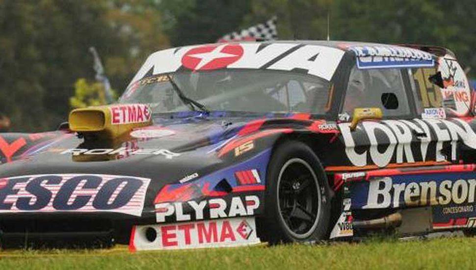 Matías Rossi hizo el mejor tiempo en San Juan, con el Ford Falcon.