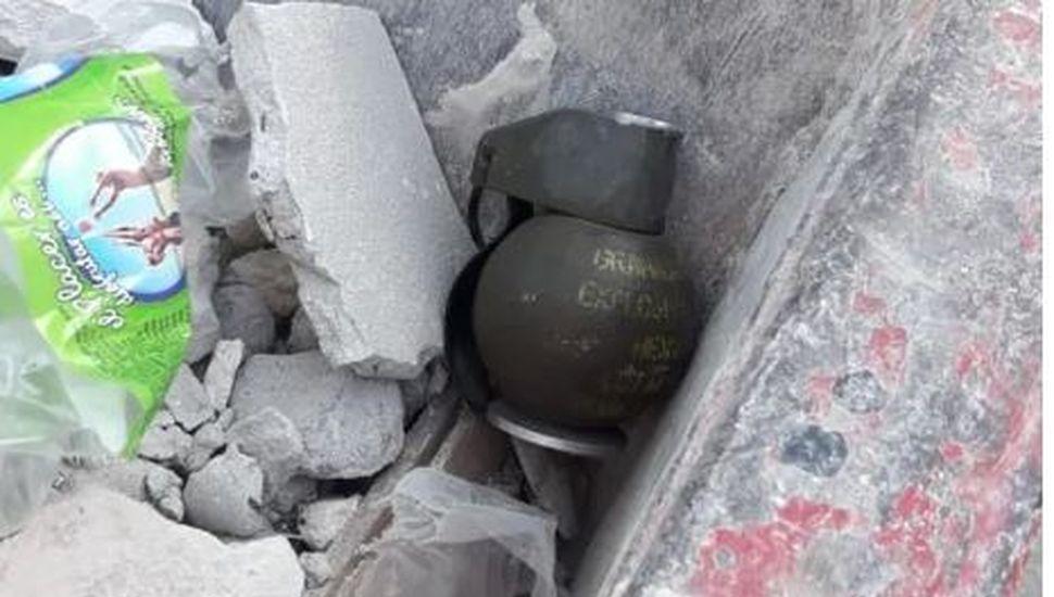 Hallaron una granada a 500 metros de la Quinta de Olivos