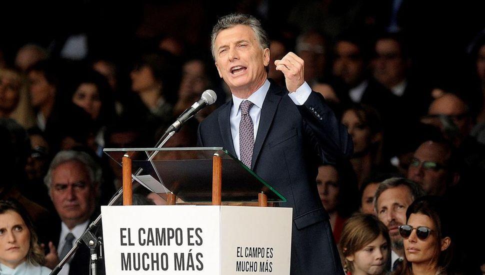 """El Presidente inaugura la Rural y reconocerá al agro  """"el esfuerzo de estos años"""""""