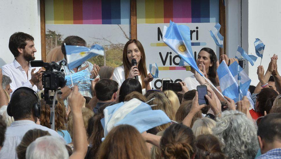 """Vidal destacó que """"muchos creen que es imposible dar vuelta esta elección""""."""
