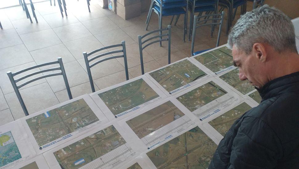 Meoni, preocupado por el diseño de los accesos a Junín de la autopista en la Ruta 7.