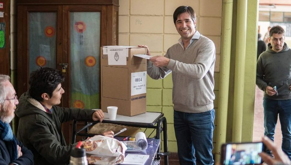 """Franco Flexas: """"Otra elección más que ganamos"""""""