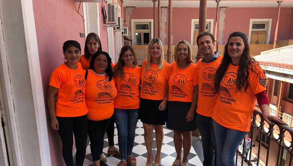 Concejales del bloque de Cambiemos de Junín recibieron a las mamás de niños y jóvenes con TDAH.